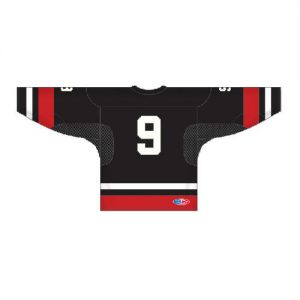 hockey jersey black back