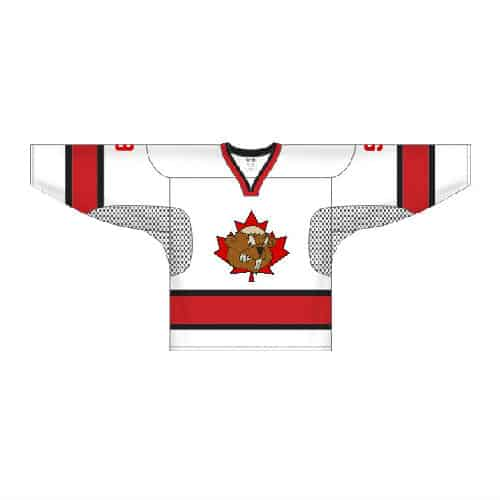 hockey jersey white front