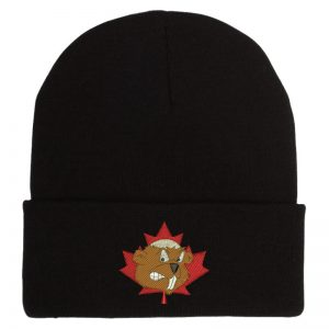 Toque Cuffed Black